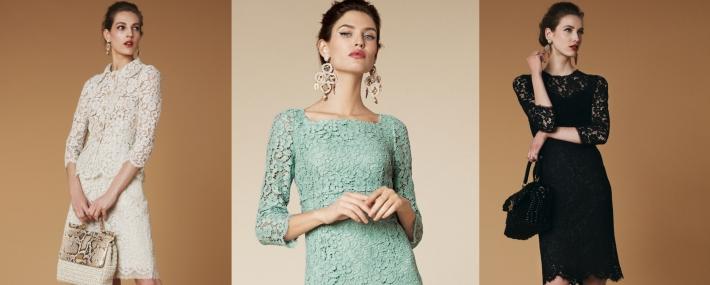 Женские платья из Италии фото